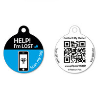 Platinum Pets Recovery System Dog ID Tag | ID Tags | PetSmart