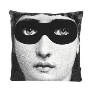 Fornasetti Burlesque - Pillows - DESIGN+ART Fornasetti online on YOOX - 58042695PM