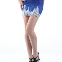Digital Printing Snowscape Skirt | Choies