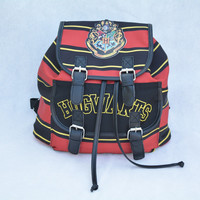 Harry Potter Hogwarts Canvas Backpack