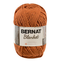 Bernat Blanket Yarn in Pumpkin Spice Large Skein Home Decor Color