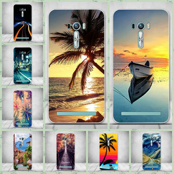 For Zenfone 2 Laser ZE500KL Cover Soft Silicone Soft Plastic Case For Asus ZenFone 2 Laser ZE500KL Case Luxury Protective Skin