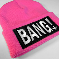 Luckless Clothing Co | Bang! Beanie (pink)