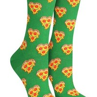 Love you to Pizzas Socks | Womens