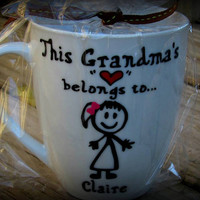 Grandma Mug, Grandma gift, Grandmother mug, Grandmother gift, Grandpa mug, Grandfather gift, Grandfather mug, Grandparent mug