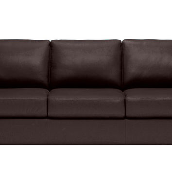 Roya Queen Leather Sleeper Sofa by Natuzzi Editions in Denver Dark Brown  sc 1 st  Wanelo : natuzzi denver sectional - Sectionals, Sofas & Couches