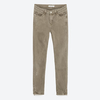 MID - RISE SKINNY TROUSERS-View All-JEANS-WOMAN-SALE | ZARA United States