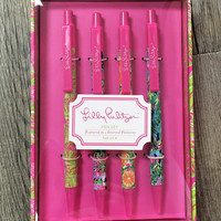 Lilly Pulitzer Pen Set