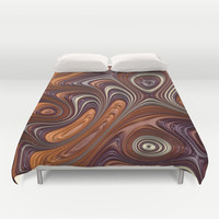 Taffy Duvet Cover by Lyle Hatch