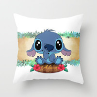 Aloha... Throw Pillow by Emiliano Morciano (Ateyo)