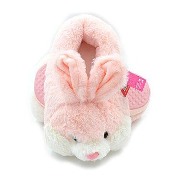 Millffy Bunny Slippers For Women Warm Funny Slippers House Shoes Rabbit Plush Slippers