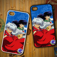 Inuyasha And Kagome Z1543 LG G2 G3, Nexus 4 5, Xperia Z2, iPhone 4S 5S 5C 6 6 Plus, iPod 4 5 Case