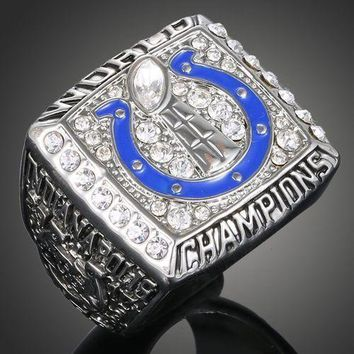 """SPORTS RING * 2006 INDIANAPOLIS """"COLTS"""" WORLD * CHAMPIONS/ ...fast delivery!"""