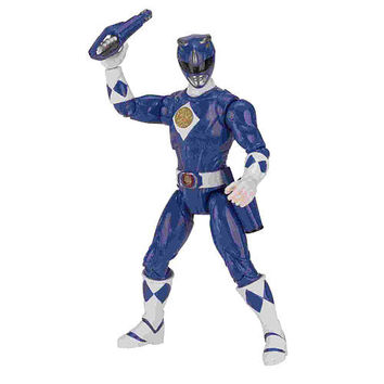 1995 Power Rangers Mighty Morphin Movie 5 Inch Figure - Blue Ranger