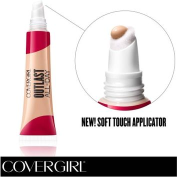 COVERGIRL Outlast All-Day Soft Touch Concealer, Fair 810, .34 fl oz - Walmart.com