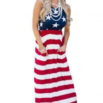Country Love Maxi Dress