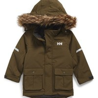 Boy's Helly Hansen 'Legacy' Water Repellant Parka ,