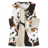 3.1 Phillip Lim for Target® Peplum Tank -Floral Print