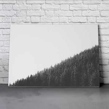 Canvas Wall Art Print - Downhill by Lars Focke