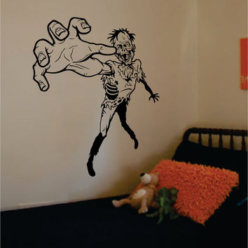 Zombie Version 3 Design Decal Sticker Wall Vinyl Art Home Room Decor