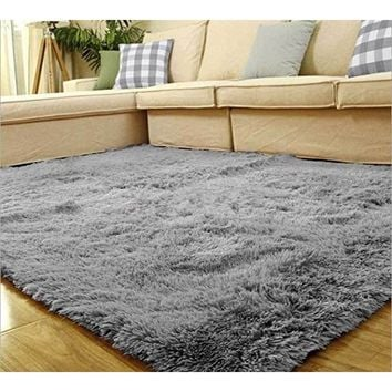 Soft Fluffy Rugs for Home Decor,Anti-Skid Shaggy Area Rug Living Rooms, & Bedroom Dining Room Bedroom Carpet Floor Mat, Home tex