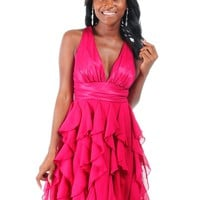 Pink Party Dress size L