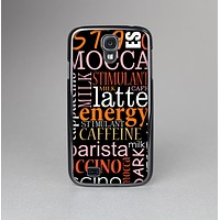 The Cafe Word Cloud Skin-Sert Case for the Samsung Galaxy S4
