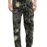 Harry Potter Marauder's Map Guys Pajama Pants