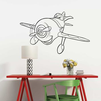 Disney Planes Wall Decal Vinyl Sticker Cartoon Airplanes Kids Children's Room Art Murals Made in US