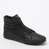 Vans SK8-Hi Slim Zip Black Sneakers - Womens Shoes - Black