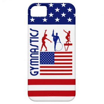 United States Gymnastics iPhone 5 Cases from Zazzle.com