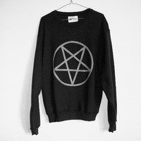 shopwithasianstereotypes: Pentagram Sweater