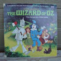 The Wizard of Oz Children's Record and Book