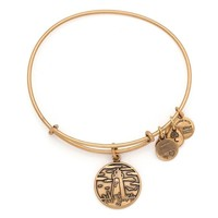 Alex and Ani Lighthouse Charm Bangle - Rafaelian Gold Finish