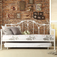 Julia Metal Daybed with Trundle 4961DB-NT