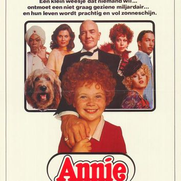 Annie (Belgian) 11x17 Movie Poster (1982)