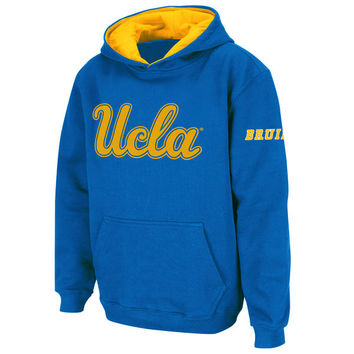 Stadium Athletic UCLA Bruins Youth True Blue Big Logo Pullover Hoodie