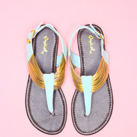 Golden Coast Sandal - Mint