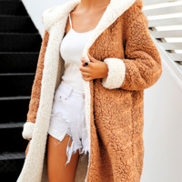 Clare Wool Hoody Coat