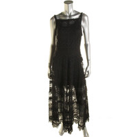 Free People Womens Sheer Lace Sleep Dress