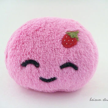 Mochi Plush - Strawberry Flavor