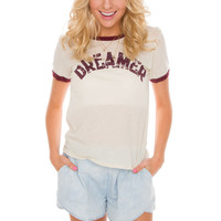 Dreamer Top in Ivory