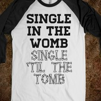 Single in the womb