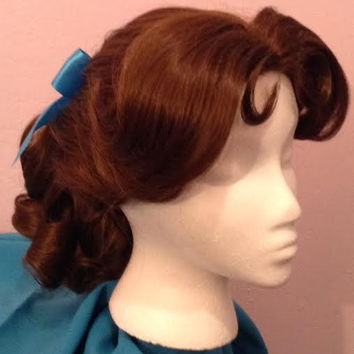Wendy Darling Inspired Character Wig from Disney's Peter Pan