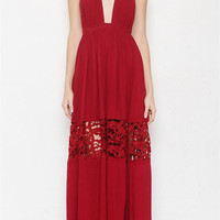 Hold Me Tight Maxi Dress (PREORDER)