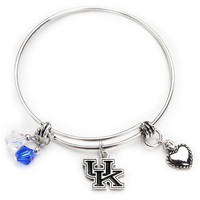 Kentucky Wildcats Bangle Bracelet