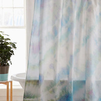 Soft Dyed Shower Curtain | Urban Outfitters