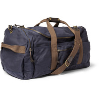 J.Crew - Abingdon Waxed Cotton-Canvas Holdall | MR PORTER