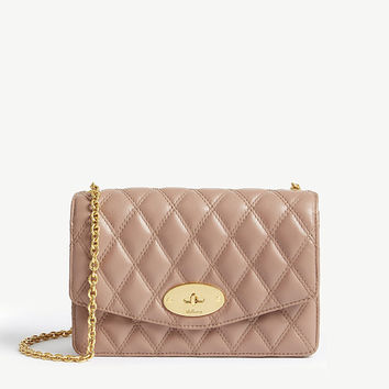 MULBERRY Darley quilted leather cross-body bag