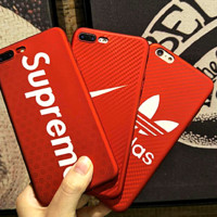 YSL and supreme:print phone shell phone case for Iphone 6/6S/6P/6SP/7P/7/8/8P